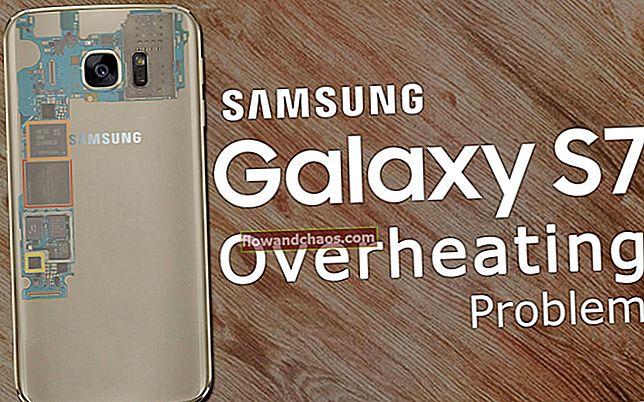Kako riješiti problem s pregrijavanjem na Samsung Galaxy S7