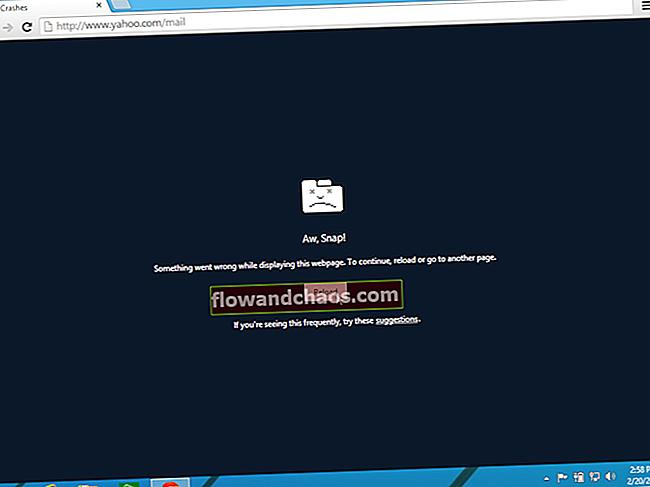 Google Chrome se neprestano ruši - kako ga popraviti