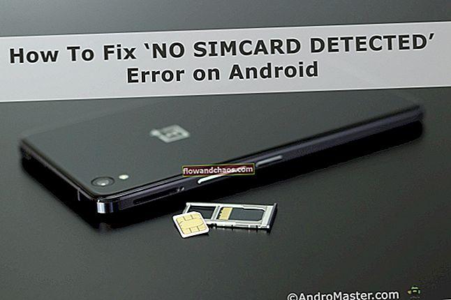 Hogyan lehet kijavítani a SIM-kártya hibáját Androidon