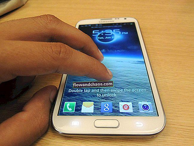 Kako popraviti da zaslon osjetljiv na dodir Samsung Galaxy S5 ne radi