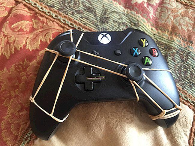 Xbox One vezérlő Joystick Drift Fix