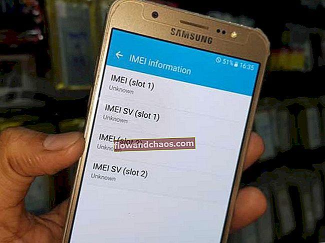 Kako popraviti nepoznatu verziju osnovnog pojasa Samsung Galaxy
