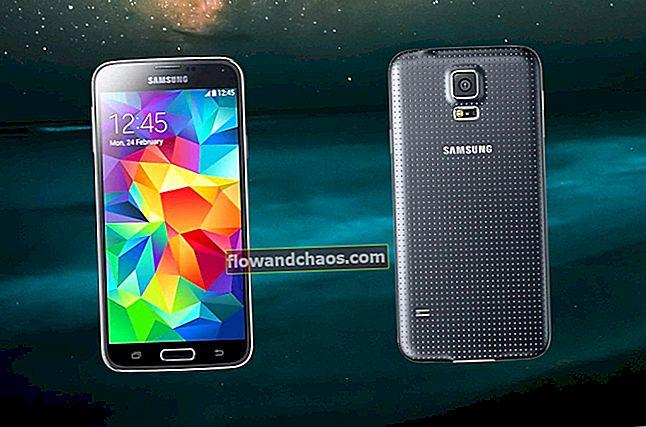 Kako iskorijeniti Samsung Galaxy S5
