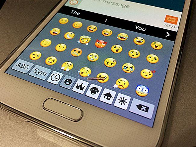 Kako koristiti emoji emotikone na Samsung Galaxy S5