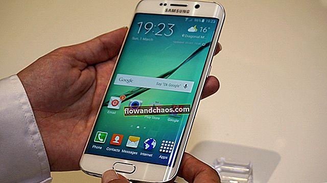 Sådan bruges Samsung Galaxy S6 Quick Connect