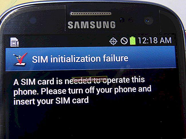 Umetnite SIM karticu za pristup mrežnim uslugama Popravite da se ne registrirate na mreži