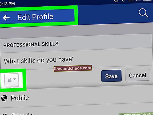 Kako sakriti svoj profil na Facebooku