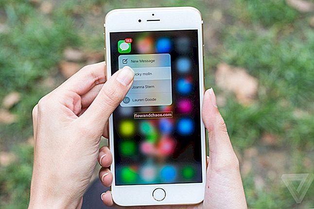 Kako popraviti da 3D dodir ne radi na iPhoneu 6S Plus