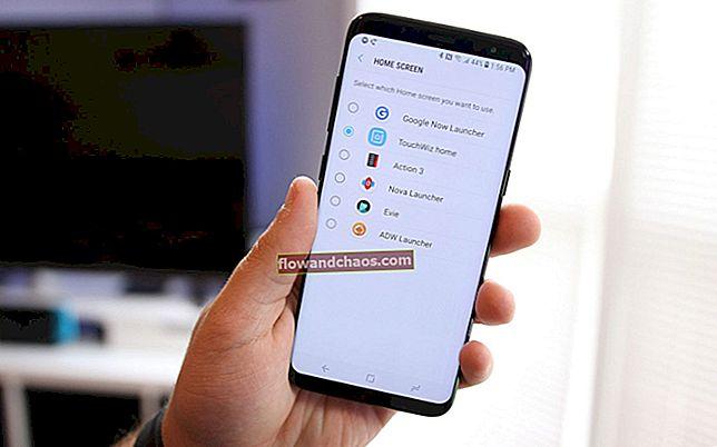 Az indító megváltoztatása a Samsung Galaxy S8 készüléken