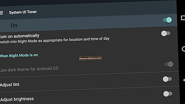 Az éjszakai mód engedélyezése az Android 7.0 Nugátban