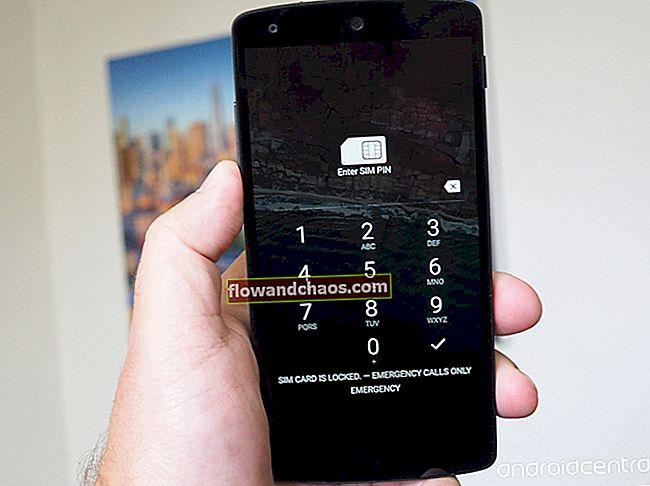 """A """"SIM Network Unlock PIN"""" kijavítása az Android telefonokon"""