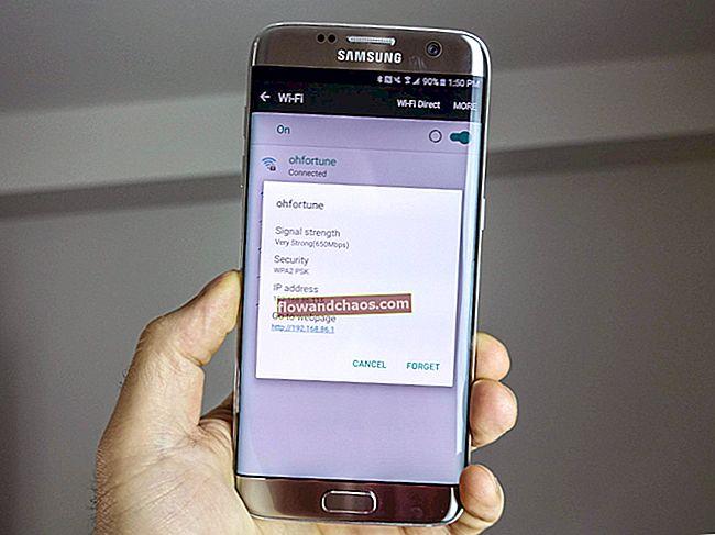 Kako riješiti problem sa Samsung Galaxy S7 Wi-Fi