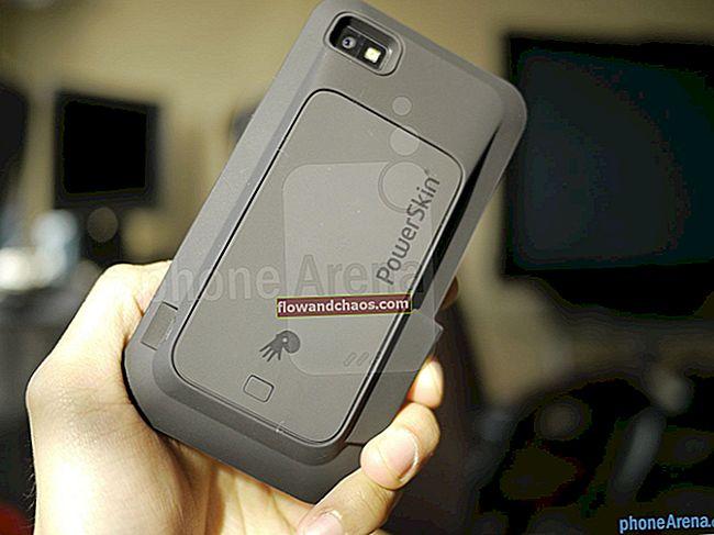Kako popraviti bateriju BlackBerry Z10 pri 30-15%