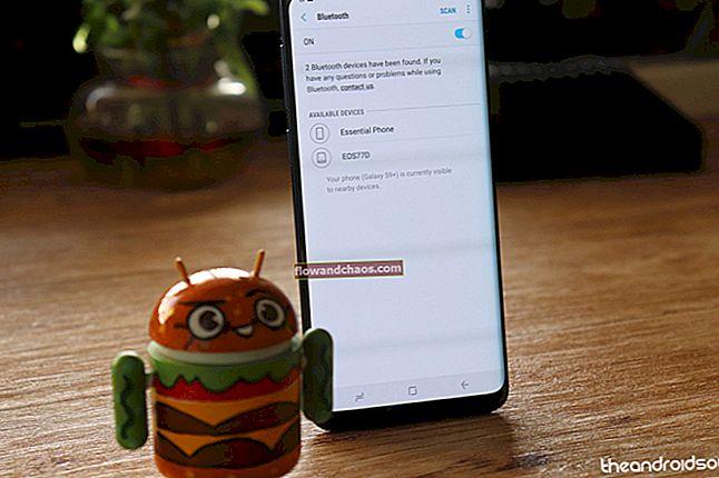 Kako riješiti probleme s Bluetoothom Samsung Galaxy S9