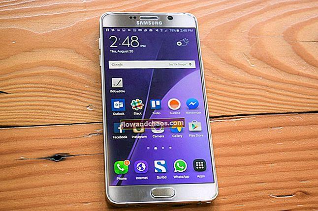 A Samsung Galaxy Note 5 gyakori problémái és megoldása