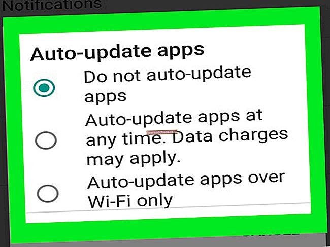 Az alkalmazások frissítése Androidon