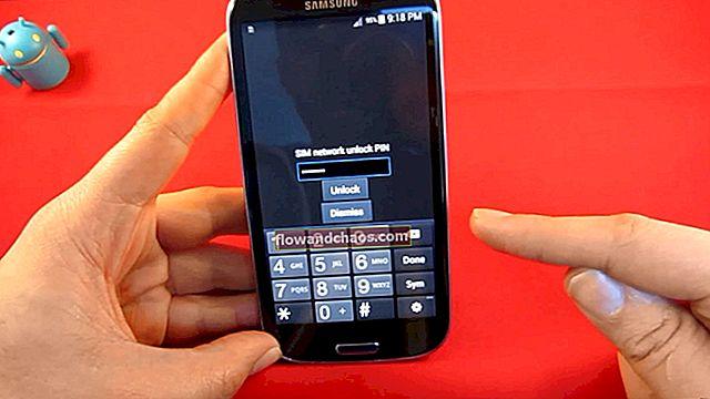 Hogyan lehet kinyitni a Samsung telefonokat a feloldó kódok használatával