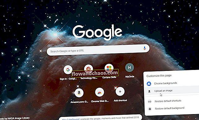 Élő háttérkép hozzáadása a Google Chrome új lap oldalához