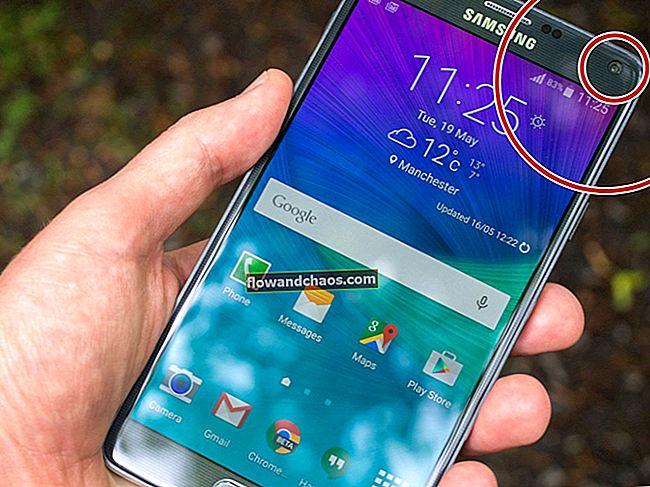 Kako popraviti »Na žalost so stiki prenehali delovati« na Samsung Galaxy Note 4