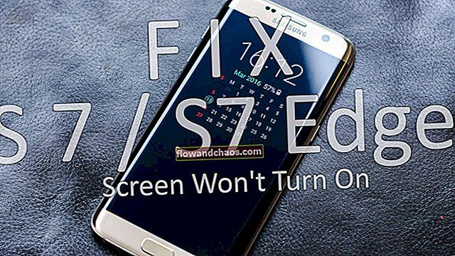 A Samsung Galaxy S7 képernyője nem kapcsol be - hogyan javítható