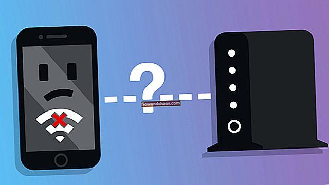 Sådan løses en iPhone, der ikke opretter forbindelse til Wi-Fi