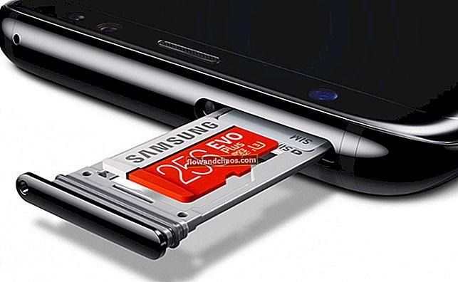 Hogyan lehet áthelyezni az alkalmazásokat a micro SD kártyára a Galaxy S8-on