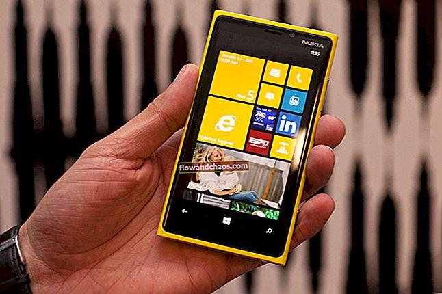 Sådan udføres blød nulstilling og hård nulstilling på Nokia Lumia 920