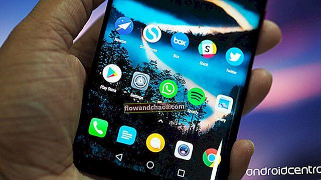 כיצד לשנות את משגר מסך הבית ב- Huawei Mate 8