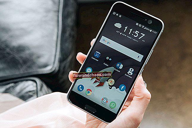 כיצד לתקן בעיות במצלמה של HTC 10