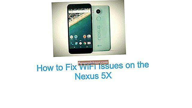 כיצד לפתור בעיות Wi-Fi ב- Nexus 6
