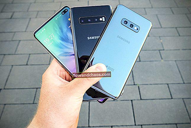 עדכוני תוכנה T-Mobile לסמסונג גלקסי S10, גלקסי הערה 9 ו- S7 מוצגים