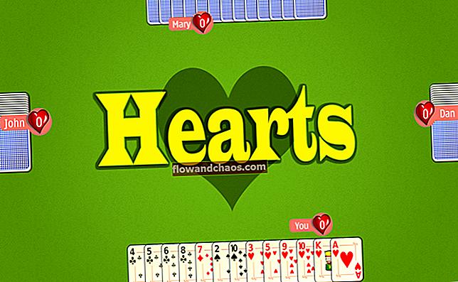 התקן את Windows 7 Hearts המשחק ב- Windows 10