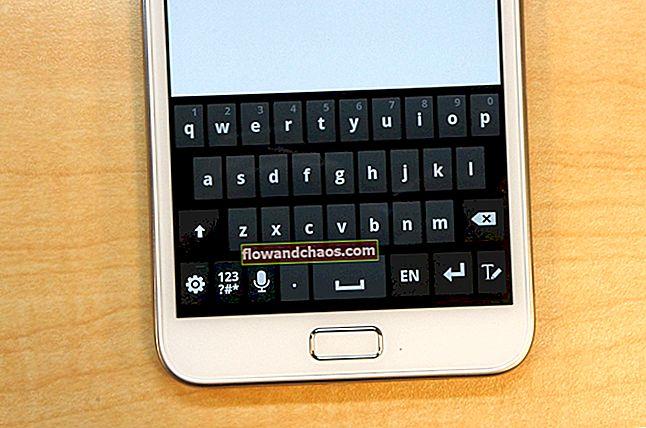 """Sådan løses """"Desværre er Android-tastaturet stoppet"""""""