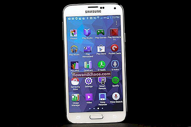 A Samsung Galaxy S5 képernyőjének kijavítása nem kapcsolja be a problémát