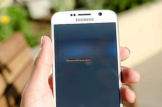 A Galaxy S6 képernyőjének kijavítása nem kapcsolja be a problémát