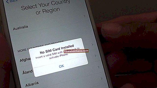 Az iPhone aktiválása SIM-kártya nélkül